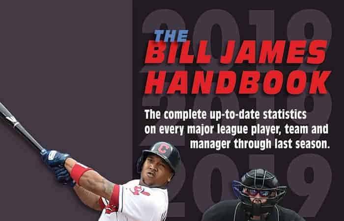 Notes from The Bill James Handbook 2019